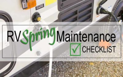 RV Spring Maintenance