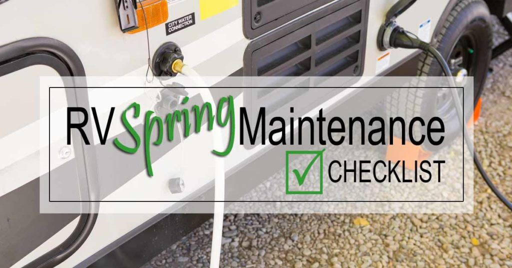 RV Spring Maintenance