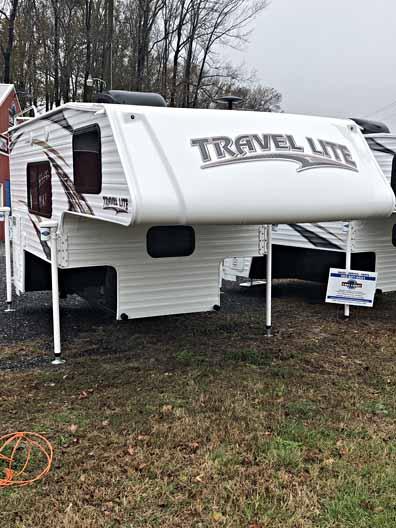 2018 Travel Lite Truck Camper 890SBRX 1