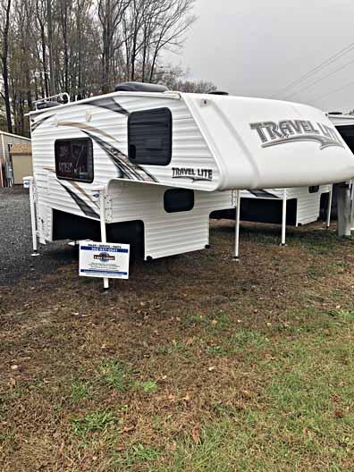 2018 travel lite truck camper 840SBRX 11