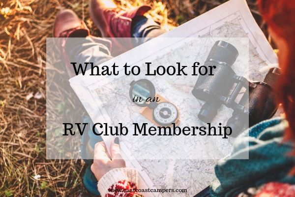What to Look For in an RV Club Membership