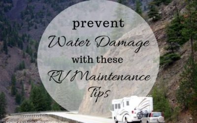 Prevent Water Damage With These RV Maintenance Tips