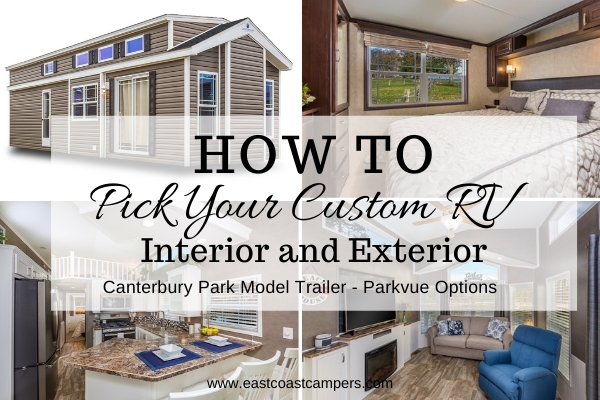 How to Pick Your Custom RV Interior and Exterior