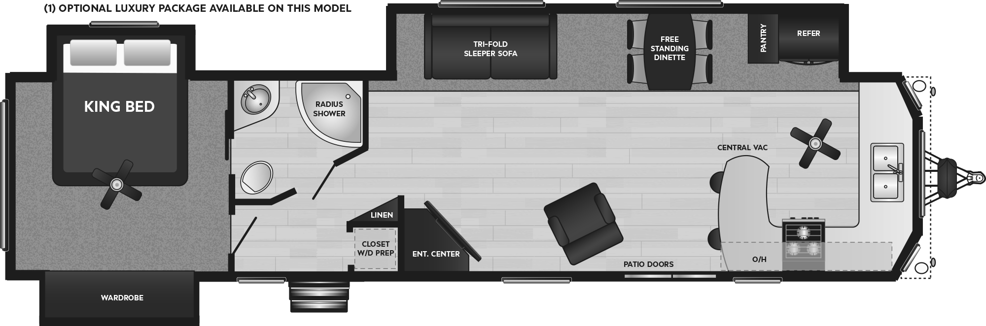 Retreat 39FKSS floorplan