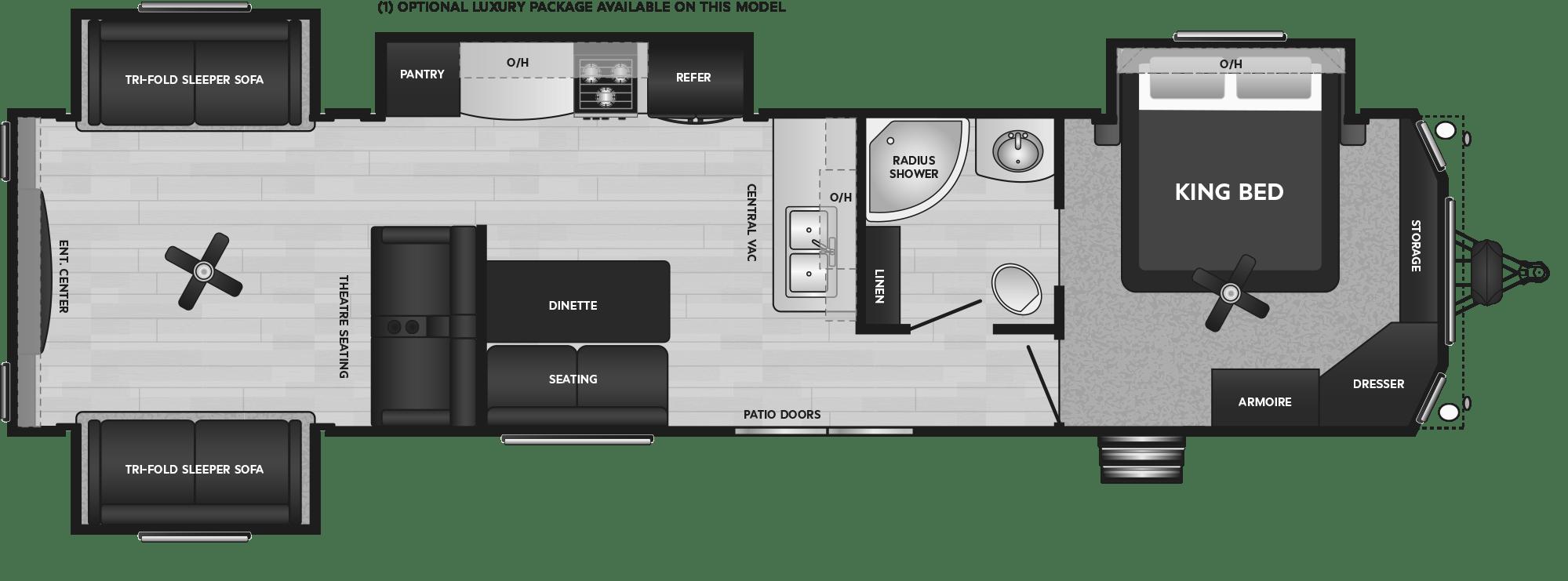Retreat 39RDEN floorplan
